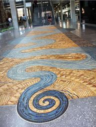 River Of Life mosaic
