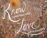 Quote: Know Who You