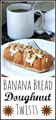 Banana Bread Doughnu