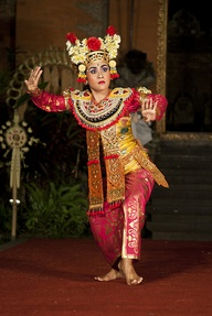 The warrior Balinese