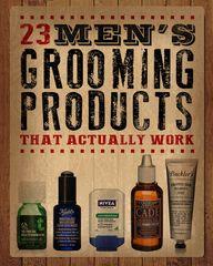 23 Men's Grooming Pr