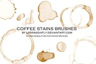 coffee stains brushe