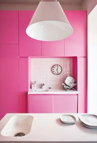 hot for pink.
