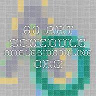 AO Art Schedule Ambl