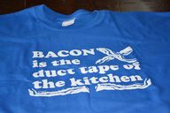Mens Bacon tshirt fu