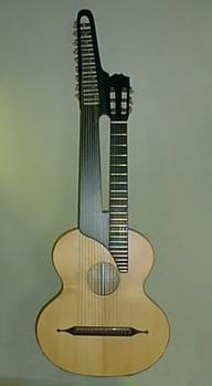 Fritz Harich, Kontragitarre