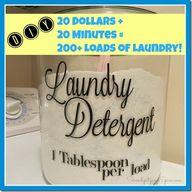 DIY Laundry Detergen