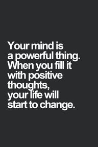Your mind is a power