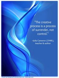 """The creative proces"
