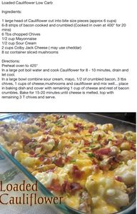 Loaded cauliflower c