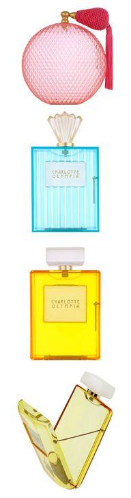 Perfume Bottle Clutc