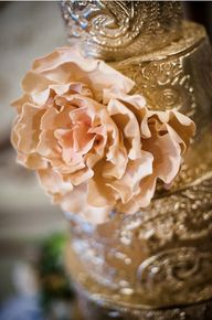 Ornate Gold #Wedding