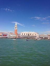Sailing into Venice,