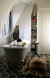 Parisian bathroom