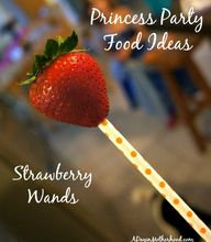 Strawberry Wands are