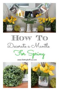 CM Mantel Decor Ideas