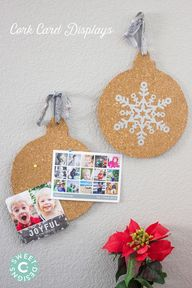 Cork card displays-