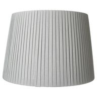 Pleated Linen Lamp S