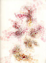watercolor map sketc