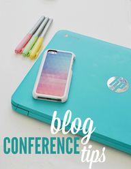 Blog #conference tip