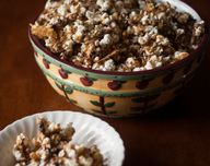 Toffee Popcorn with