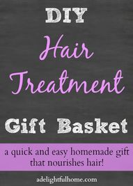 DIY Hair Treatment G