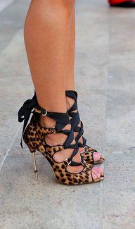 Leopard Sandals - 50