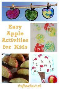 Easy Apple Activitie