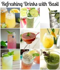 Basil Drinks: 10 Ref