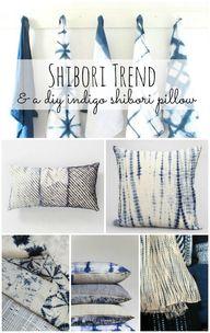 Shibori Trend: DIY I