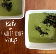 Kale and Cauliflower