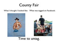 Going to the #fair t