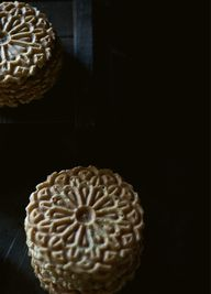 Pizzelle Cookies wit