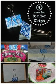 4 uses for binder cl