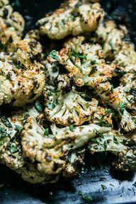 Garlicky Cauliflower