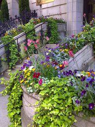 Container garden ideas for Garden Walk