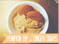 PERFECT Pumpkin Dip!