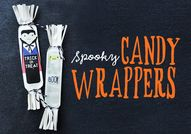 DIY Spooky Candy Wra