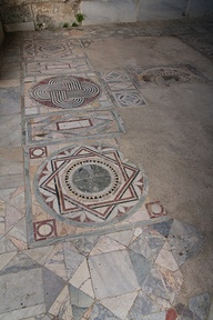 Ostia Antica Mosaic.