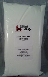Arrowroot powder is