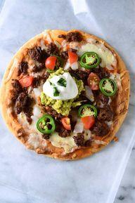 Chorizo Flatbread Pi