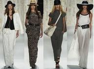 Spring 2013 new york fashion week Rachel Zoe. 1960's-70's nonchalance bohemian-glam.