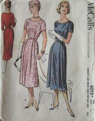 1950s McCalls Sewing