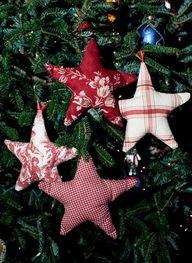 Fabric Stars Homemad