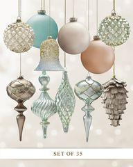 35 Piece Ornament Se