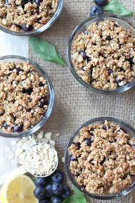 Blueberry Crumble Re