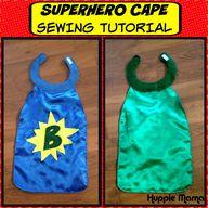 Superhero Cape Sewin