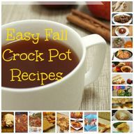20 Easy Fall Crock P