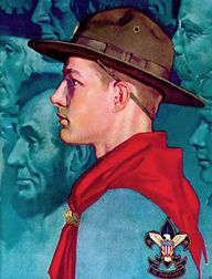 Norman Rockwell Boy Scout (hat)