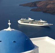 Sailing Santorini. #